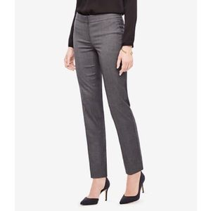 Ann Taylor Skinny Ankle Dress Pants Charcoal